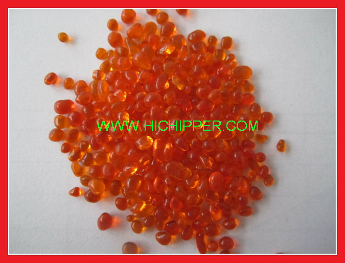 Swimming Pool Irregular glass beads-Orange
