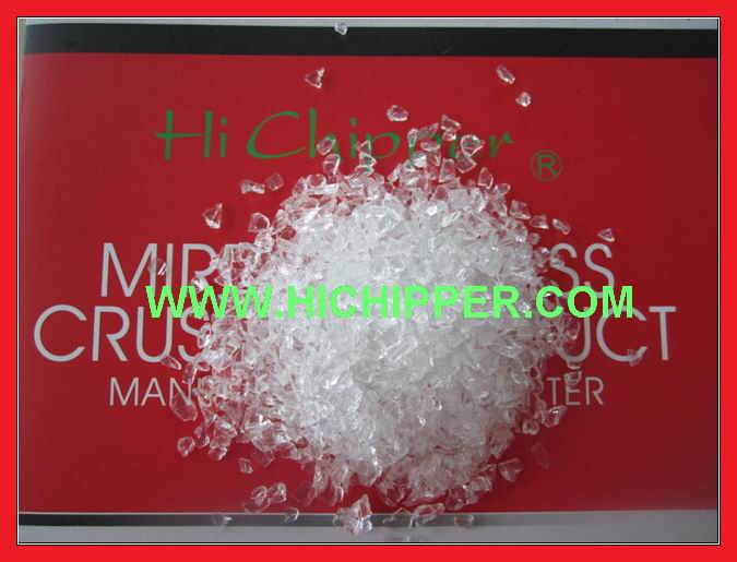 Glass Chips-Crystal Glass Chips