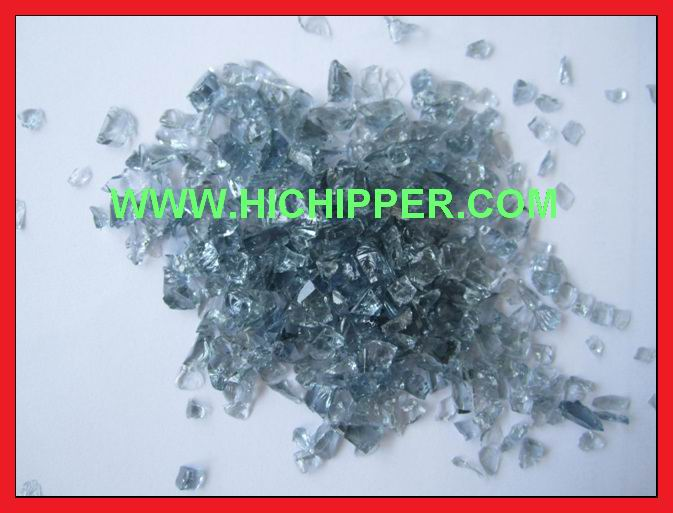 Glass Chips-Grey glass chips