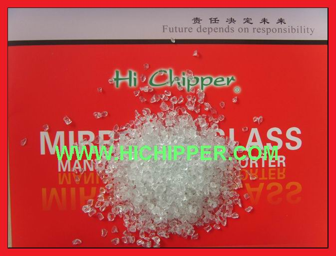 Glass chipping-Clear Glass Chipping