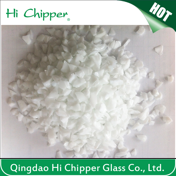 Hi Chipper white glass chips